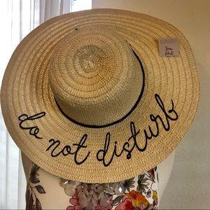 Accessories - Do not Disturb Summer Hat